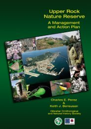 Upper Rock Nature Reserve: A Management and Action Plan