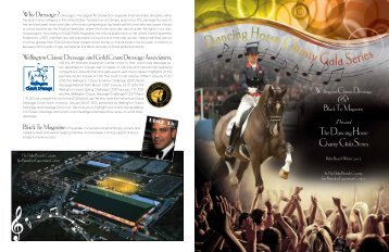 Dressage Charity Gala Print Friendly PDF - Black Tie Magazine