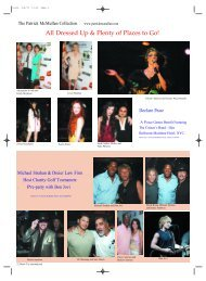 All Dressed Up & Plenty of Places to Go! - Black Tie Magazine