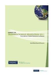 Nesta 6ª edição do Ranking das Transnacionais Brasileiras