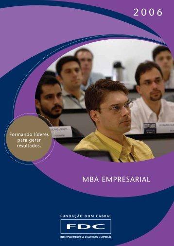 MBA EMPRESARIAL - Portal FDC