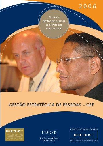 Gestão estratéGica de Pessoas – GeP - Portal FDC