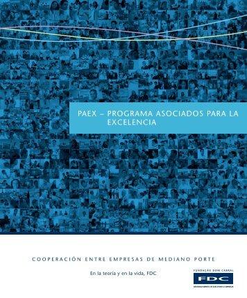 paeX – programa asociados para la eXcelencia