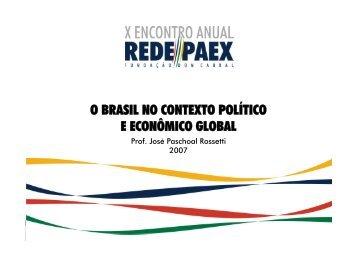 Cenários e Competitividade na América Latina José Paschoal ...