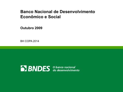 BNDES Palestra Institucional em Português - Portal FDC
