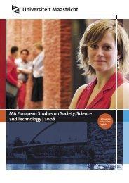 ESST MA.pdf - Maastricht University