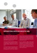international modular executive mba - School of Business and ... - Page 2