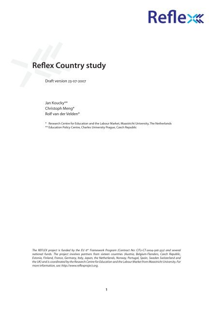 Reflex Country study - School of Business and Economics ...