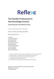 The Flexible Professional in the Knowledge Society: - School of ...