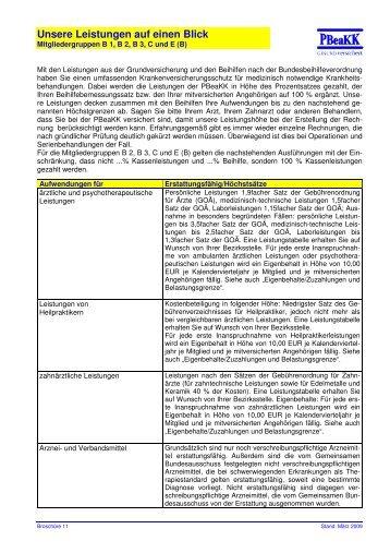 Infobroschüre 11-Leistungen auf einen Blick B Stand 27-05--205