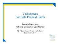 7 Essentials For Safe Prepaid Cards - FDIC