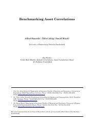 Benchmarking Asset Correlations - FDIC
