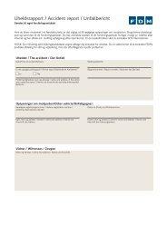 Hent og print en uheldsrapport - FDM