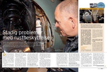 stadig problemer med rustbeskyttelse - FDM