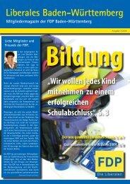 Liberales Baden-Württemberg - FDP Baden-Württemberg