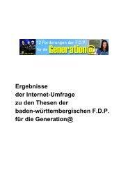 Generation - FDP Baden-Württemberg