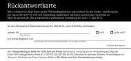 Rückantwortkarte - FDP-Fraktion im Sächsischen Landtag