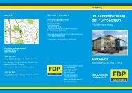 38. Landesparteitag der FDP Sachsen Mittweida - FDP-Fraktion im ...
