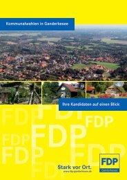 Stark vor Ort. - FDP Ganderkesee