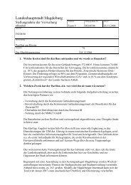 Stellungnahme - Vorlage S0245/06 - FDP Magdeburg