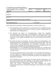 Stellungnahme - Vorlage S0039/07 - FDP Kreisverband Magdeburg