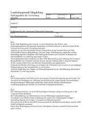 Stellungnahme - Vorlage S0120/07 - FDP Kreisverband Magdeburg