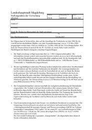 Stellungnahme - Vorlage S0090/07 - FDP Kreisverband Magdeburg