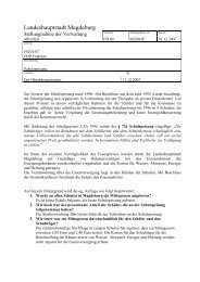 Stellungnahme - Vorlage S0260/07 - FDP Kreisverband Magdeburg