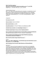 Szenische Lesung - FDP Kreisverband Magdeburg