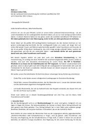 Rede von Christian Lindner MdL, bei der ... - FDP-NRW