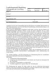 Stellungnahme - Vorlage S0159/07 - FDP Kreisverband Magdeburg