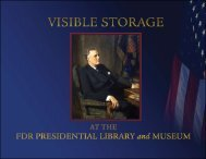 An artist's rendering of the Visible Storage Galleries - Franklin D ...