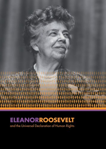 eleanorroosevelt - Franklin D. Roosevelt Presidential Library and ...