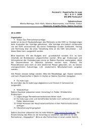 1 Protokoll 2. Projekttreffen Fe male 30.1. & 31.1. 2009 BG BRG ...