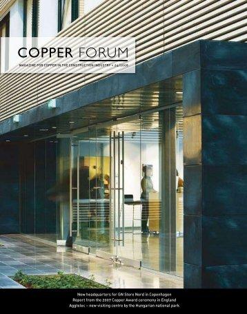 COPPER FORUM - Copper Concept