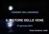 Il Motore delle Vene - INFN Sezione di Ferrara