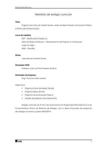 Relatorio de estagio curricular contabilidade
