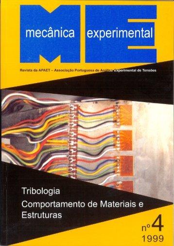 mecânica experimental - Faculdade de Engenharia da ...