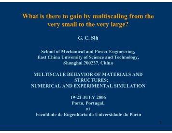 1 + - Faculdade de Engenharia da Universidade do Porto