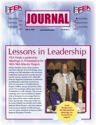 March 2006 issue - FEA Online!