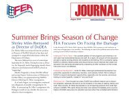 August 2010 issue - FEA Online!