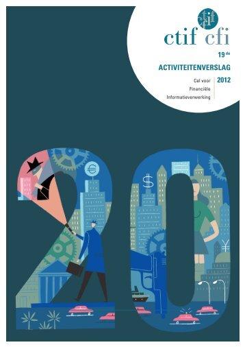 Activiteitenverslag 2012 PDF - Cel voor Financiële ...