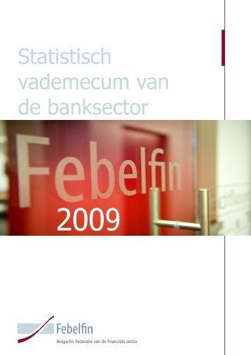Statistisch vademecum van de banksector - Febelfin