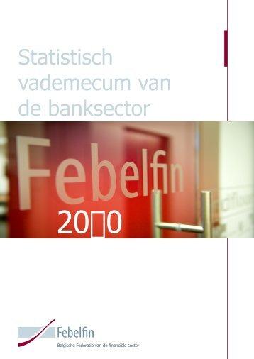 Kencijfers van het Belgische Bankwezen - Febelfin