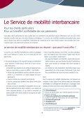 Brochure Service de mobilité interbancaire - Beobank - Page 2