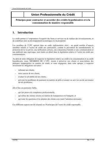 Union Professionnelle du Crédit - UPC-BVK