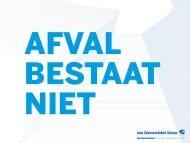 Wouter Dewulf, Van Gansewinkel - VVSG