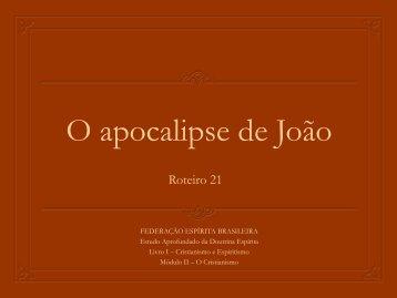 O apocalipse de João - Federação Espírita Brasileira