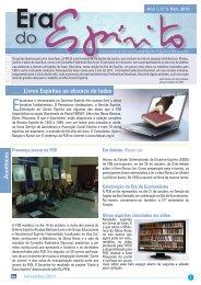 Editorial - Federação Espírita Brasileira