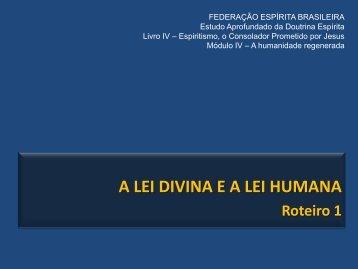 O livro dos espíritos - Federação Espírita Brasileira